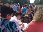 Жители пострадавшего отнаводнения Нижневартовска вышли нанародный сход
