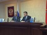 Павел Астахов встретился вТуле сВладимиром Груздевым
