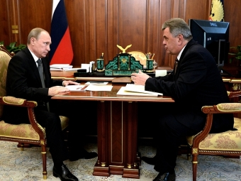 Ястребов поведал Путину обэкономике исоциальных проблемах вЯрославской области