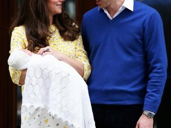 Герцог игерцогиня Кембриджские пригласили накрестины дочери всех желающих