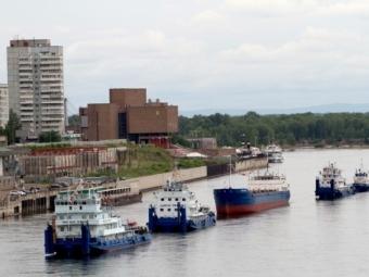 ВКрасноярске пройдет традиционный парад судов наЕнисее