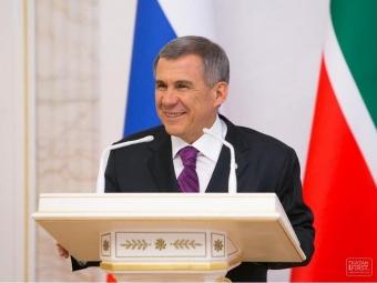 Минниханова выдвинули навыборы руководителя Татарстана от«Единой России»