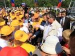 Новокузнецким детям вручили велосипеды отТулеева