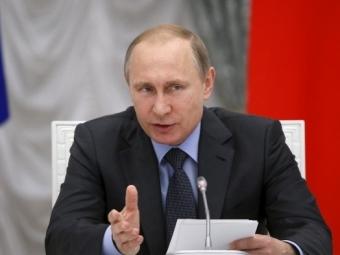 Рассчитывать наизменение недружественного курса вобозримом будущем неприходится— Владимир Путин