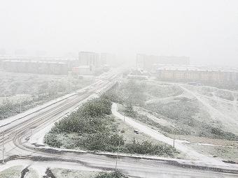 «Зеленая» зима: вВоркуте из-за снега включат отопление