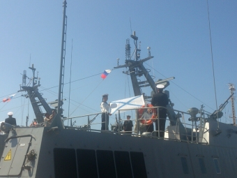 Российская Федерация / Пронедра: Балтийский флот был дополнен 2-мя десантными катерами, 04.07.2015
