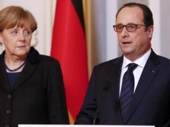 Эхо столицы: Канцлер ФРГ Ангела Меркель ипрезидент Франции Франсуа Олланд выступили запроведение чрезвычайного саммита еврозоны