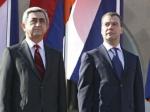 Президент Армении прибыл в Россию с официальным визитом