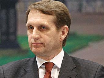 Лужков подал в суд на Нарышкина