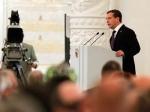 Медведев начал выступать с посланием Федеральному Собранию