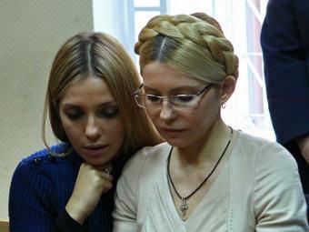 Дочери Тимошенко разрешили свидание с матерью в колонии