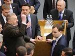 ЛДПР заблокировала трибуну в Госдуме