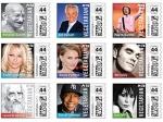 PETA выпустила рекламные марки с 20 знаменитыми вегетарианцами