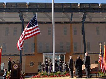 США вдвое сократят посольство в Багдаде