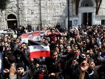 Оппозиционеры в Сирии формируют Национальный совет