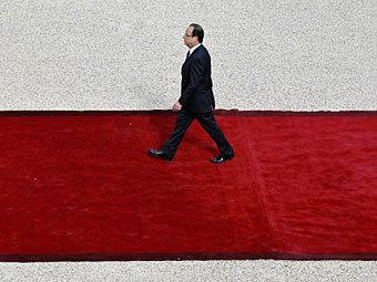 Франсуа Олланд вступил в должность президента