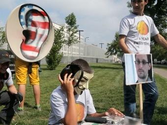 И снова о деле Сноудена: Америка шпионила за нами из Москвы