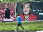 Партия Ангелы Меркель лидирует на выборах в Германии