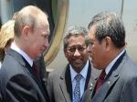 Президент Индонезии Сусило Бамбанг спел Владимиру Путину