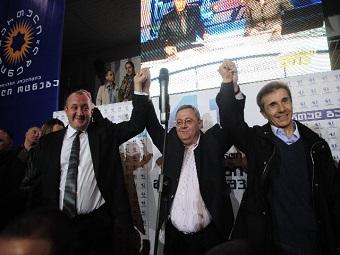 Кандидат от «Грузинской мечты» побеждает на выборах