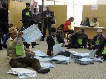 В Непале прошли выборы в правительство