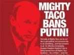 Сеть мексиканских ресторанов запретило Путину посещать свои заведения