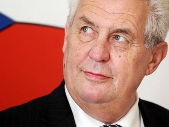 Президент Чехии не поддерживает санкции и выступает за отмену виз с Россией