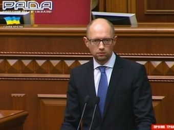 Премьер-министр Украины Яценюк ушел в отставку