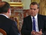 Медведев ответит на вопросы журналистов о курсе рубля