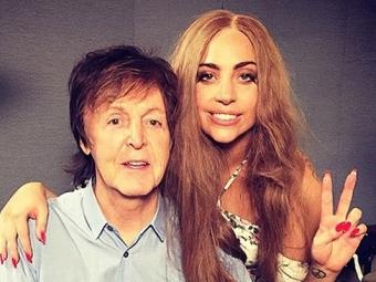 Леди Гага спелась сПолом МакКартни