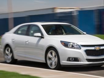 Malibu станет лучшим автомобилем бренда Chevrolet