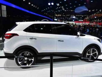 Hyundai будет выпускать новый компактный SUV назаводе вСанкт-Петербурге