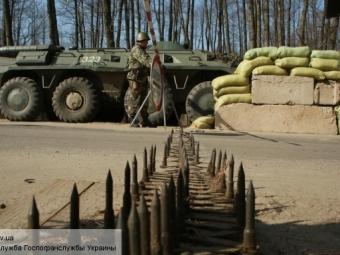НаУкраине заявили обутрате контроля над 400 километрами границы сРоссией