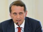 Нарышкин: поправки вбюджет-2015 отражают текущую ситуацию вэкономике