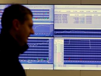 Российский рынок акций впонедельник открылся разнонаправленно