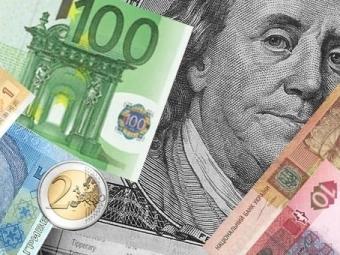 Евро набирже рухнул надва рубля