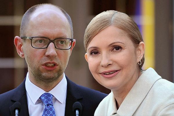Яценюк иТимошенко завелись вРаде из-за газового контракта 2009 года