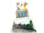 Москвичи могут сделать предзаказ свадебных тортов со скидкой до 30 января