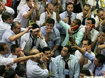 Резкое падание на фондовых рынках