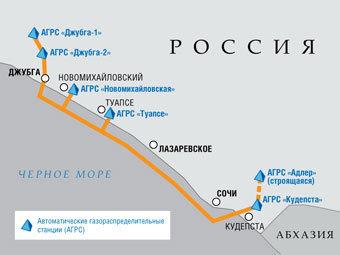 """""""Газпром"""" потратит на Олимпиаду в Сочи 100 миллиардов рублей"""