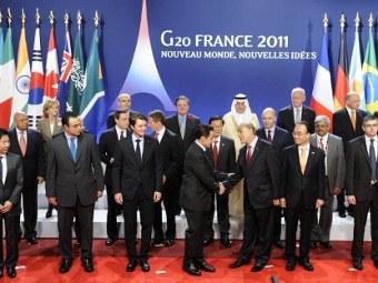 """Россия примет саммит """"Большой двадцатки"""" в 2013 году"""