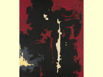 Работа американского абстракциониста установила рекорд на Sothebys