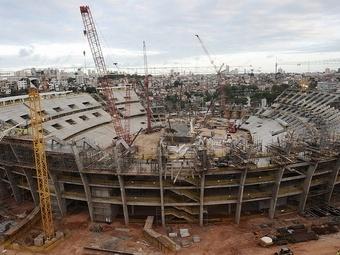 Бразилия рискует не успеть достроить стадионы к Чемпионату мира-2014
