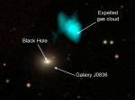 Черные дыры влияют преждевременное старение галактик— Ученые