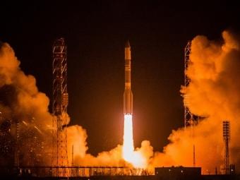 Россия произвела пуск ракеты-носителя