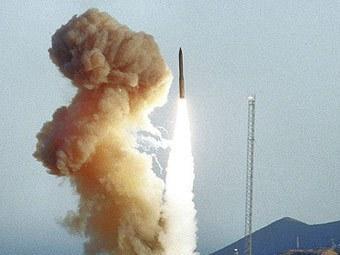 В США провалились испытания баллистической ракеты