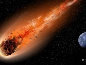 Пролёт огромного астероида над Байкалом снял телескоп вБурятии