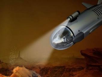 НАСА показали концепт субмарины для Титана
