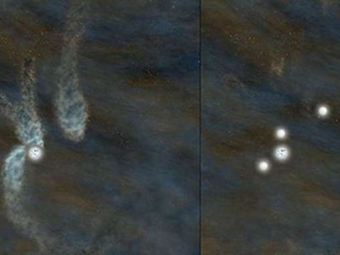 Астрономы впервые застали рождение звездной системы