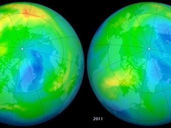 Экологи обнаружили ватмосфере новый класс разрушающих озон веществ